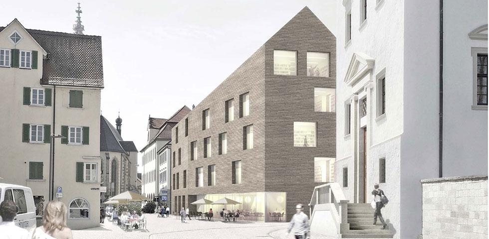 Neubau stadtbibliothek rottenburg kohler grohe - Kohler grohe architekten ...