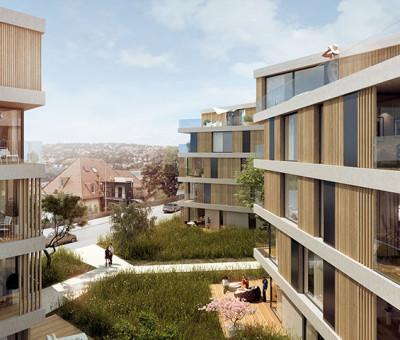 Wohnbebauung Stuttgart
