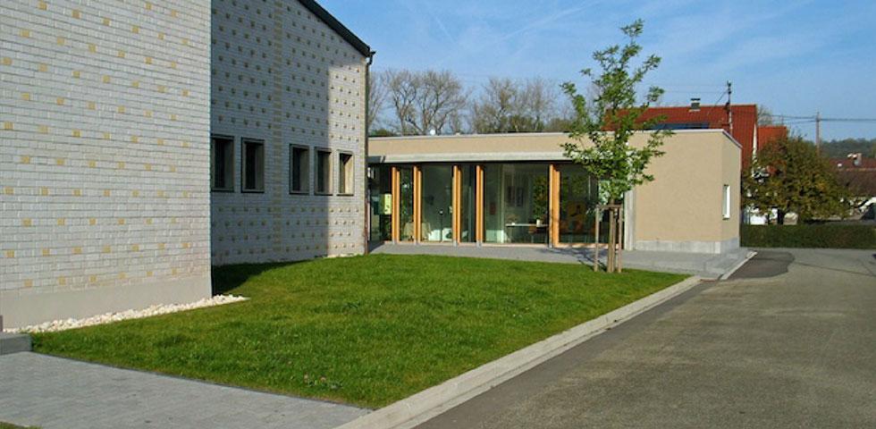 Gemeindehaus neckartaifingen kohler grohe - Kohler grohe architekten ...