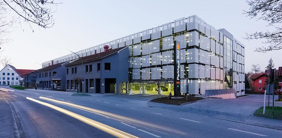 Parkhaus s d sparkasse kaufbeuren kohler grohe - Kohler grohe architekten ...