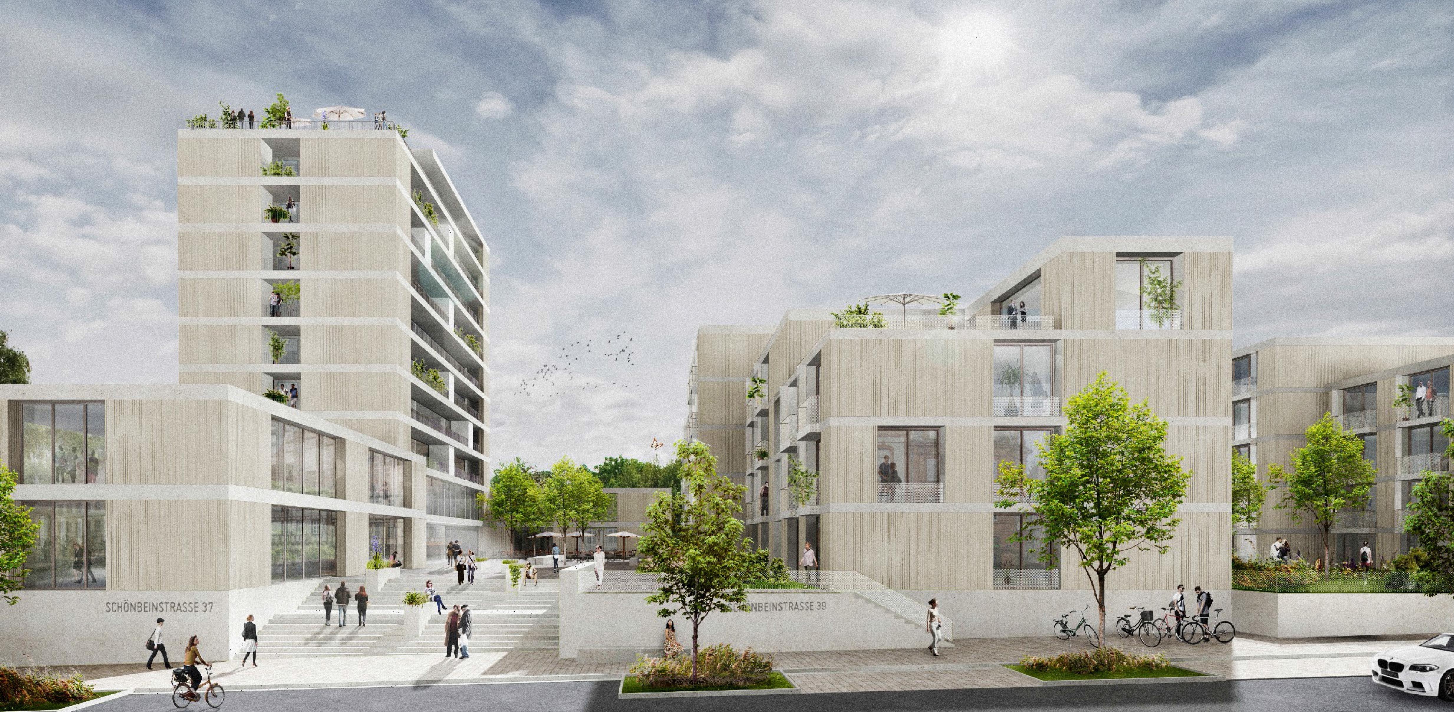 Baywa areal ludwigsburg kohler grohe - Kohler grohe architekten ...