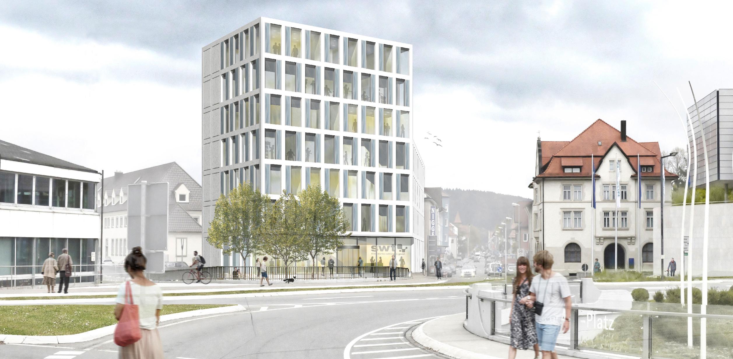 Stadtwerke tuttlingen kohler grohe - Kohler grohe architekten ...