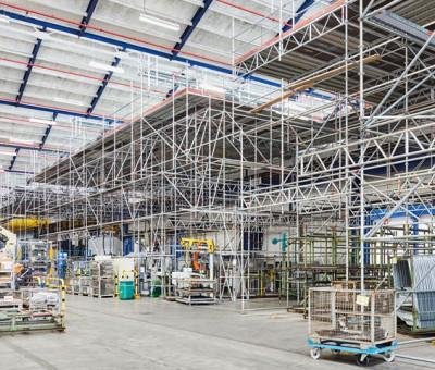 Sanierung von Produktionsgebäuden der Fa. Läpple