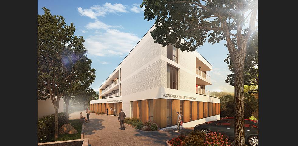 Haus f r gesundheit betreutes wohnen neckarwestheim kohler grohe - Kohler grohe architekten ...
