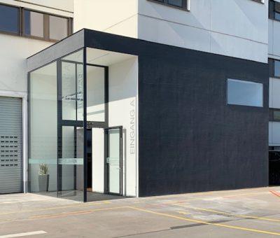 Neubau einer Produktionshalle Fa. Läpple
