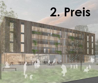 2. Preis. Wohnungsbau WettbewerbWörth am Rhein